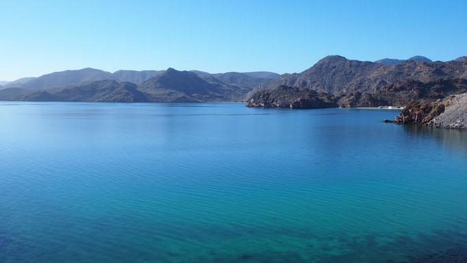 En route vers Agua Verde ; Basse-Californie ; Mexique. Voyage Maxime Lelièvre