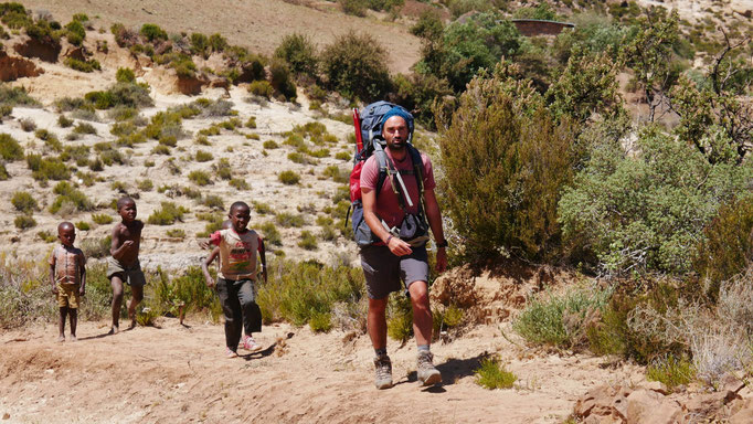 Région de Malealea ; Lesotho. Voyage Maxime Lelièvre