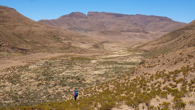 Village de Thamatu ; Lesotho. Voyage Maxime Lelièvre