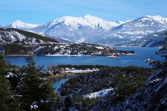 Entre la baie St-Michel et la baie des Moulettes ; Chorges ; Alpes du Sud. Voyage Max de nature