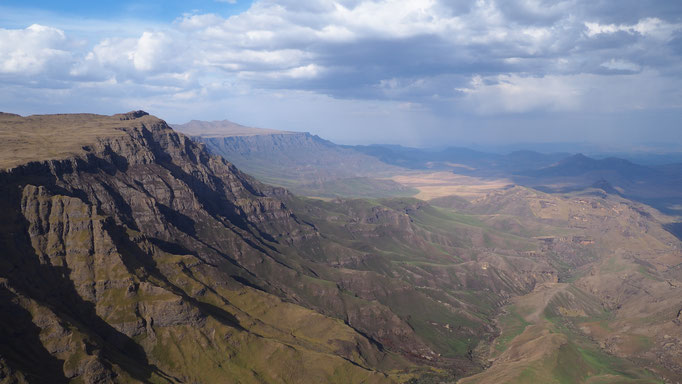 Entre Sani et Sehlabathebe ; Lesotho. Voyage Maxime Lelièvre
