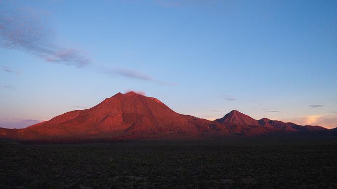 Volcan de Las Tres Virgenes ; Basse-Californie ; Mexique. Voyage Maxime Lelièvre