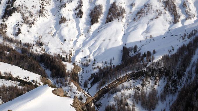 Entre Prads-Haute-Bléone et Vachière ; Alpes du Sud. Voyage Max de Nature