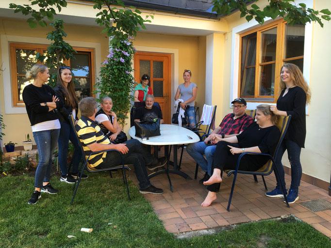 Einweihung Familie Schmidbauer