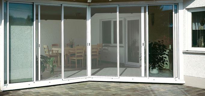 Insektenschutz für Türen                                                                (Bildquelle: mhz)