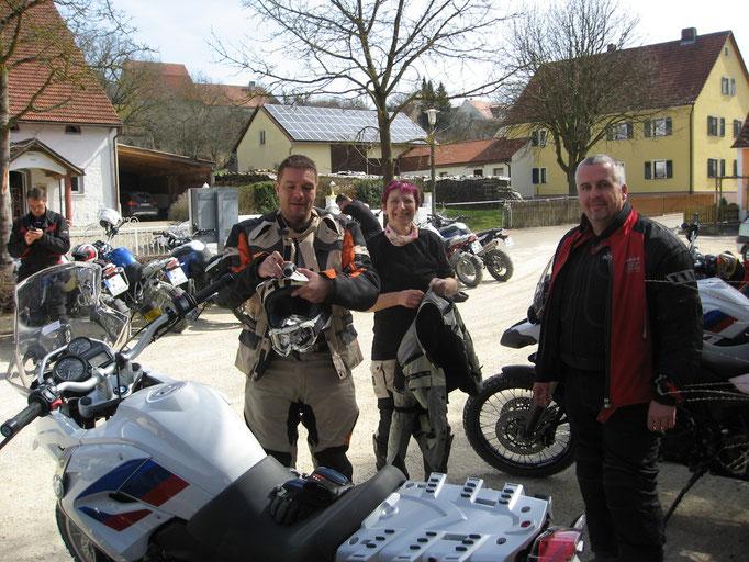 BMW-Enduropark Hechlingen, Deutschland - Andre, Doris, Michael