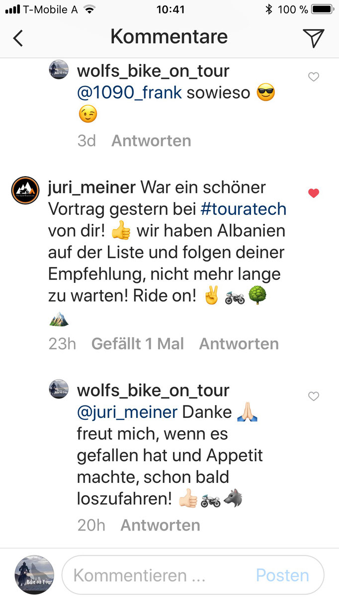 Instagram (https://www.instagram.com/wolfs_bike_on_tour/)