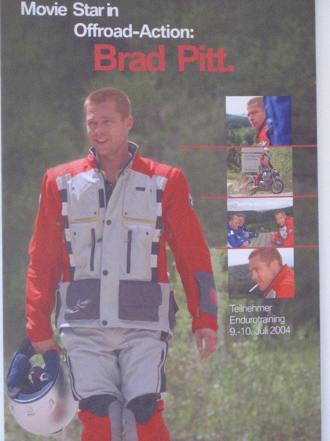 BMW-Enduropark Hechlingen, Deutschland - auch Brad Pitt war hier