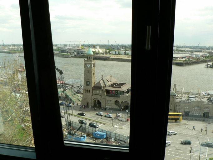 Unser Ausblick vom Zimmer aus
