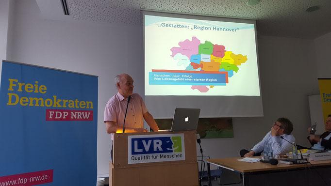 Gerhard Kier, stv. Fraktionsvorsitzender der FDP in der Städteregion Hannover