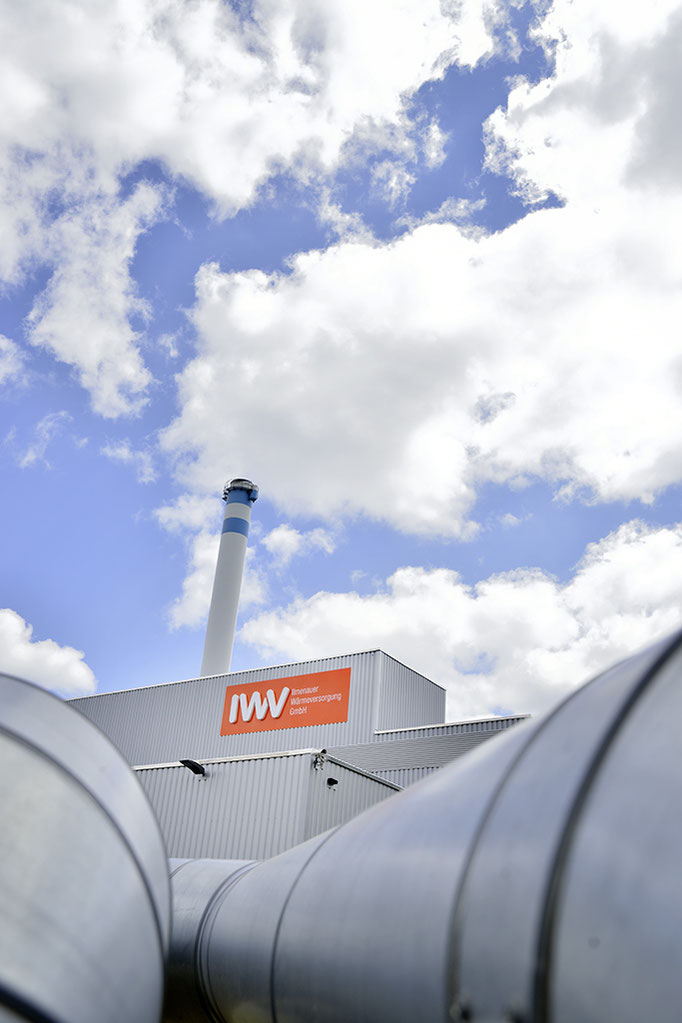 Außenaufnahme für die Ilmenauer Wärmeversorgung GmbH