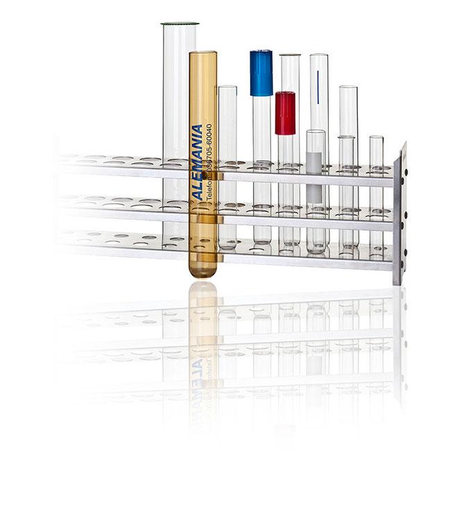 Produktfoto, Studiofoto Laborglas für Alemania Glas