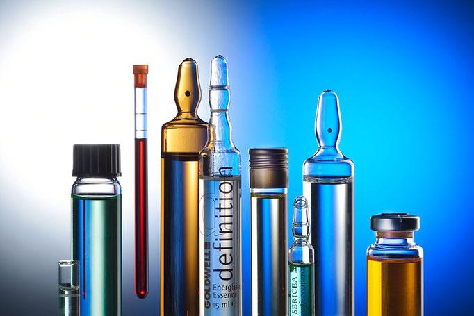 Produktfoto, pharmazeutische Glasartikel für die NAF-VSM B.V.