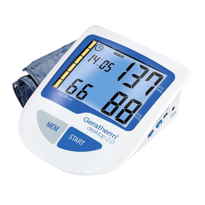 """Studiofotografie eines Blutdruckmessgerätes """"desktop"""" für die Geratherm Medical AG"""