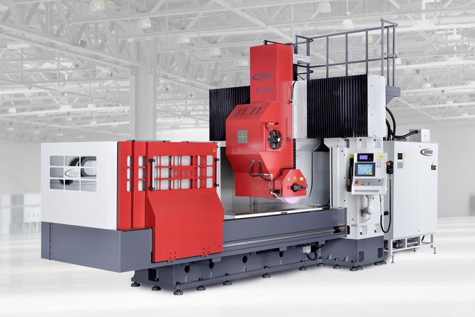 Industriefoto für ZIERSCH GmbH, Portalschleifmaschine