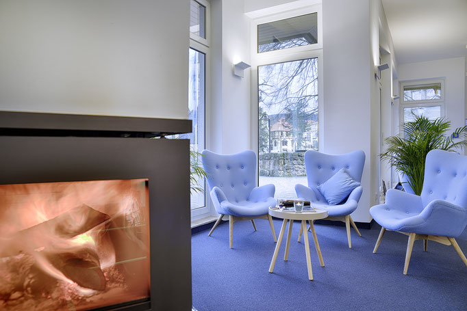Innenaufnahme, Interieur, Lobby im Hotel Löwen Ilmenau