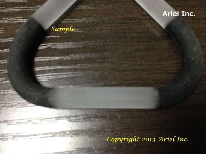 硬さ/軟らかさ、同時に色指定ができるマルチマテリアル(複合素材)で製作