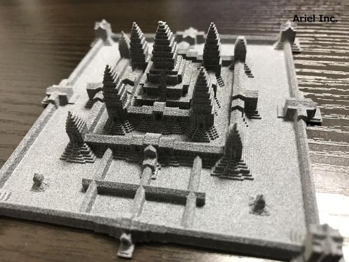 展示模型品、ナイロン・PA樹脂(粉末焼結)