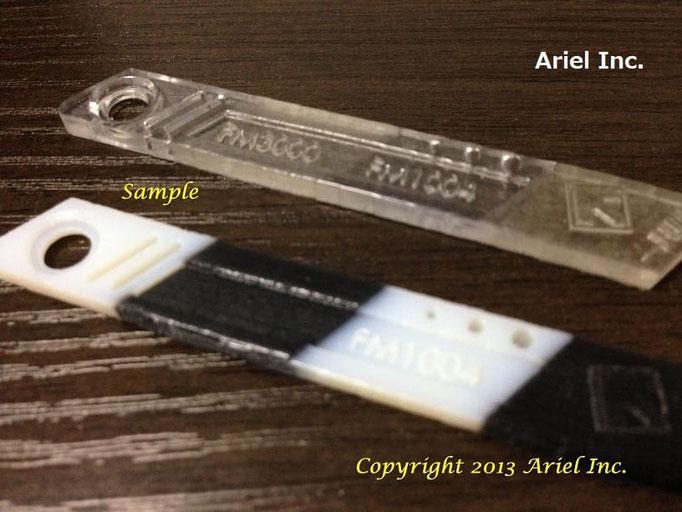 硬質樹脂とゴム/ラバー樹脂を複合素材で製作