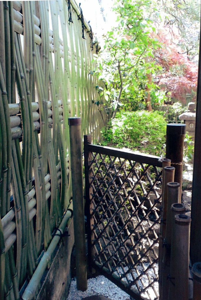 大津垣と庭木戸