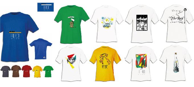 Création de visuels pour t-shirt dans le milieu de l'escalade