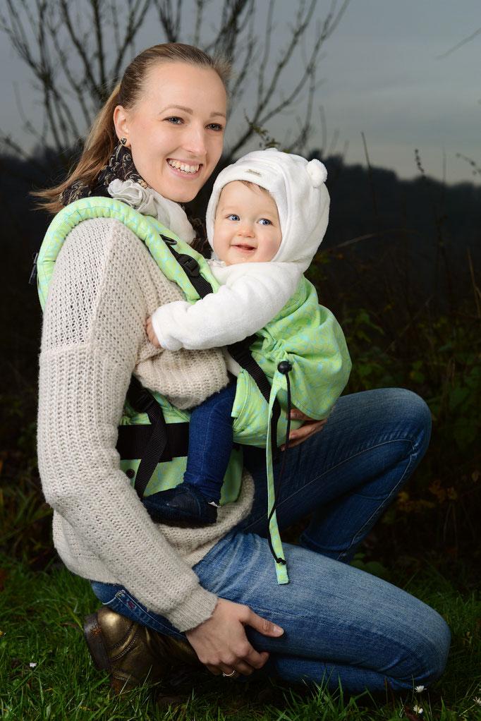 Huckepack Full Buckle Babytrage ab Geburt