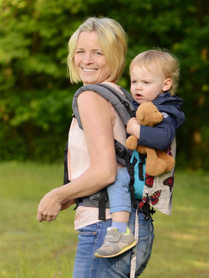 Huckepack Full Buckle Babytrage - Rückentrage