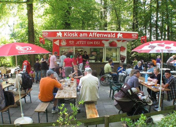 Kiosk Affenwald