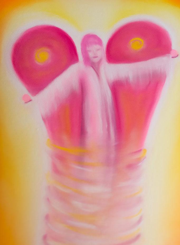 Engelbild *Erzengel Chamuel* von renate maria blatter                                                                                                                                                        von renate maria blatter