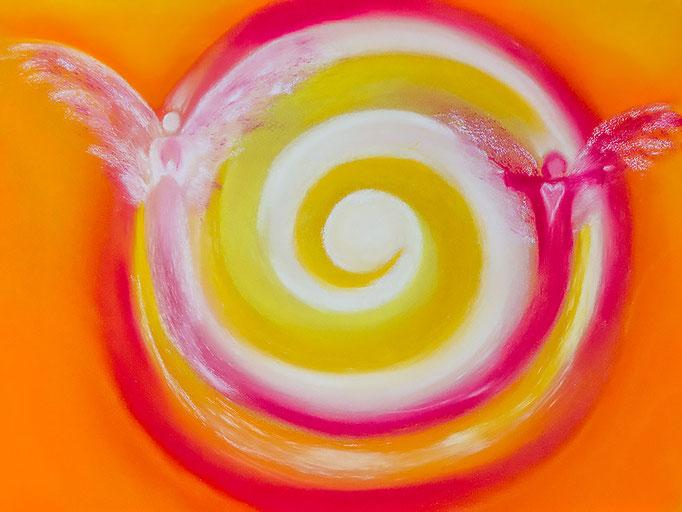 Engelbild Nr. 13 von renate maria blatter