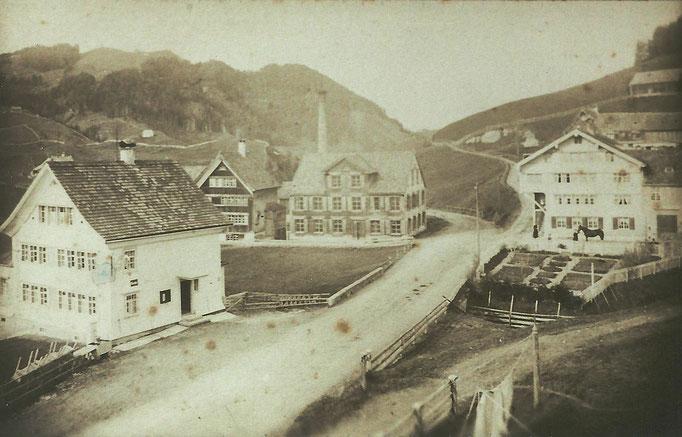 """GAIS - Zweibrücken mit Restaurant """"Rössli"""" und Ätzerei/Färberei Hermann Koller"""
