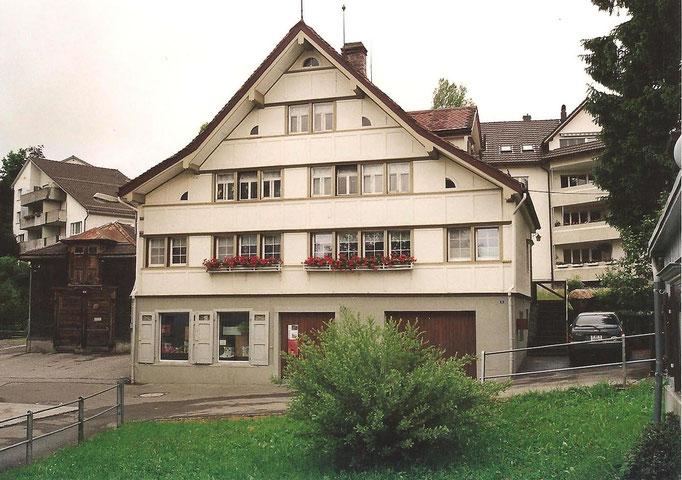 GAIS - Zweibrücken - ehemals Metzgerei Schulthess - Das Haus wurde 1843 aufgerichtet und stand vorher in Altstätten