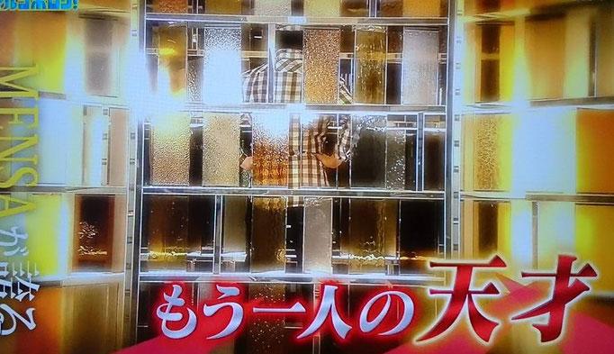 国際的高IQ団体メンサの日本人会員である宮地真一(シン)がテレビ番組に出演。『MENSAが誇るもう一人の天才』として紹介される。記憶力パフォーマンスやIQひらめきクイズ対決も。