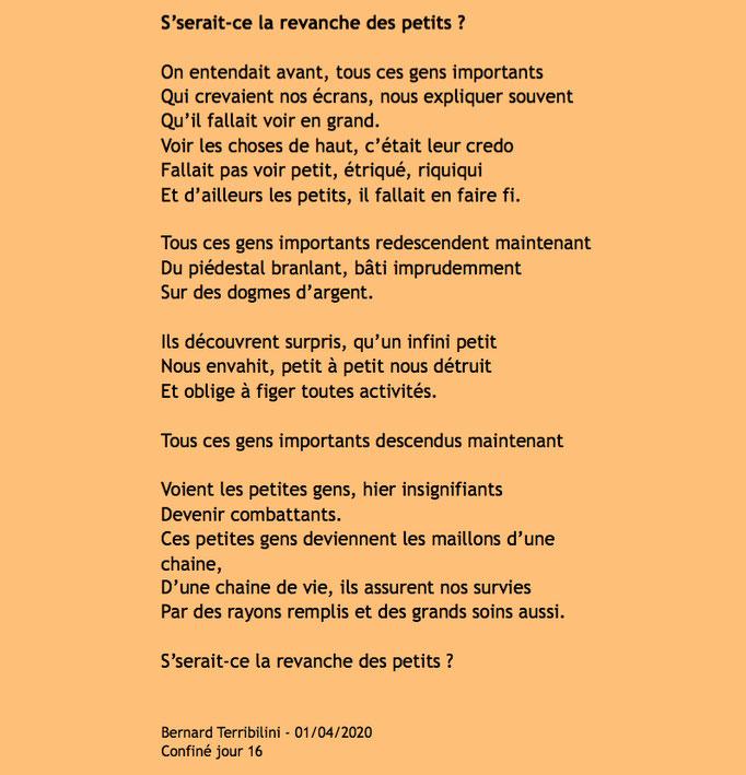auteur : Bernard Terribilini