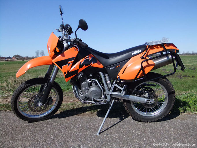 KTM 640 LC4 Enduro im April 2012