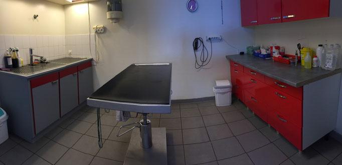 La salle de soins