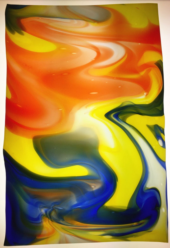 Sommerlicht - Lichttafel farbenwirbel