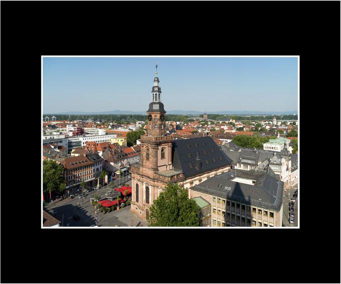 FW25 Blick über Worms mit Dreifaltigkeitskirche, 2019, (Norbert Rau)