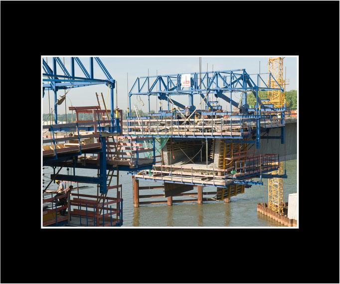 FW109 die ersten 15 m Strombrücke, 2006 (Kurt Jost)