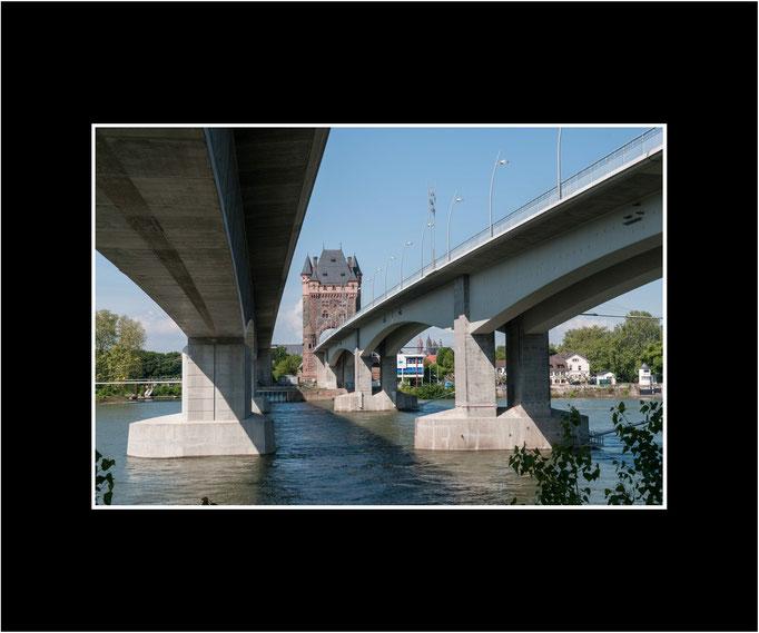 FW86 neue und alte Rheinbrücke (Kurt Jost)