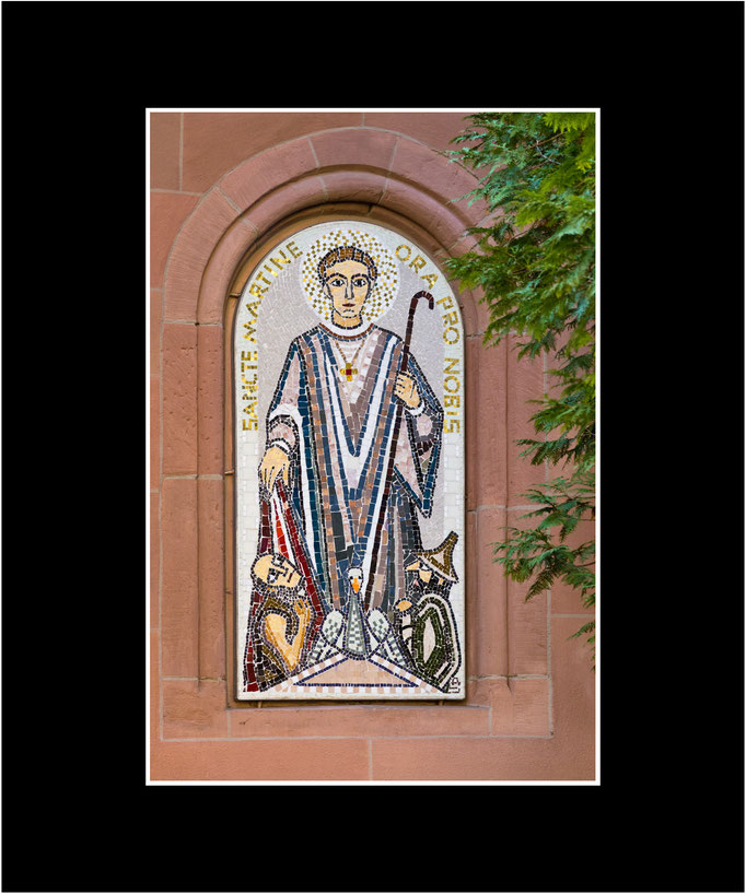 FW119 Mosaik St. Martin, Nordportal (Norbert Rau)