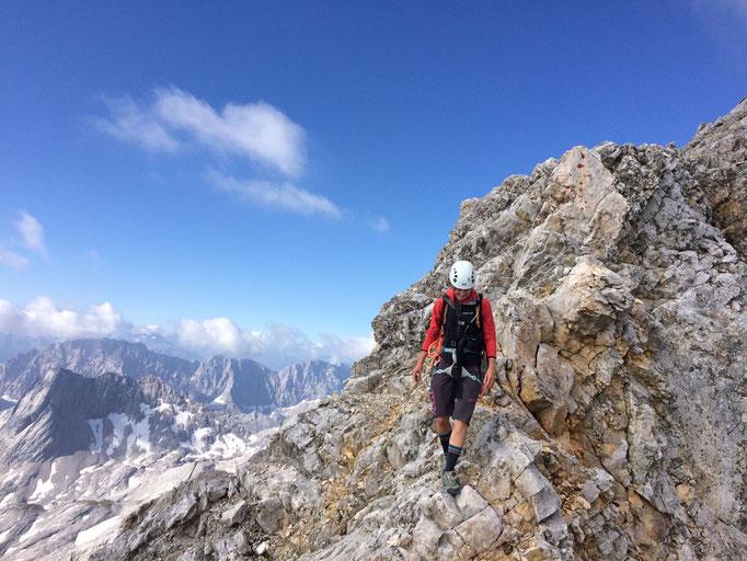 Jubigrat, Zugspitze, Juli