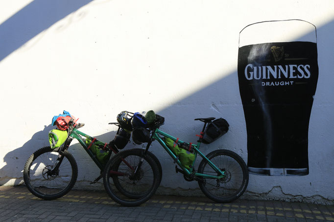 Bikepacking Irland, Juni