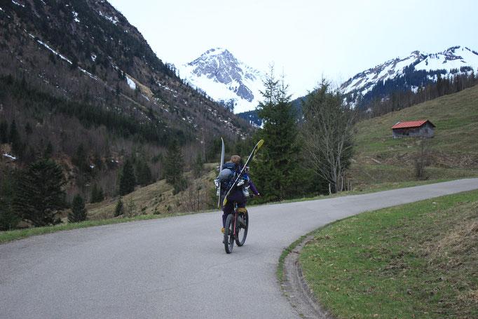 Ski&Bike Entschenkopf, April