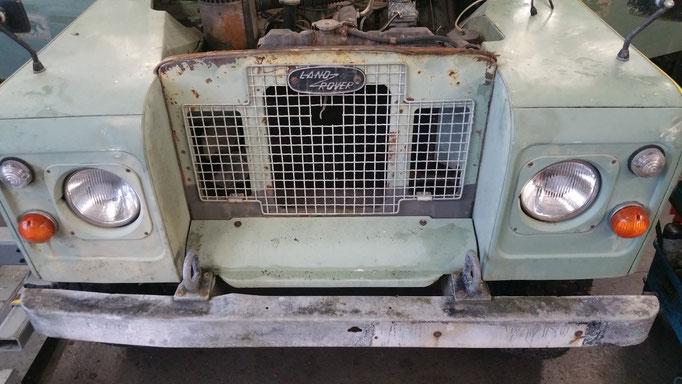 Oldtimer Land Rover