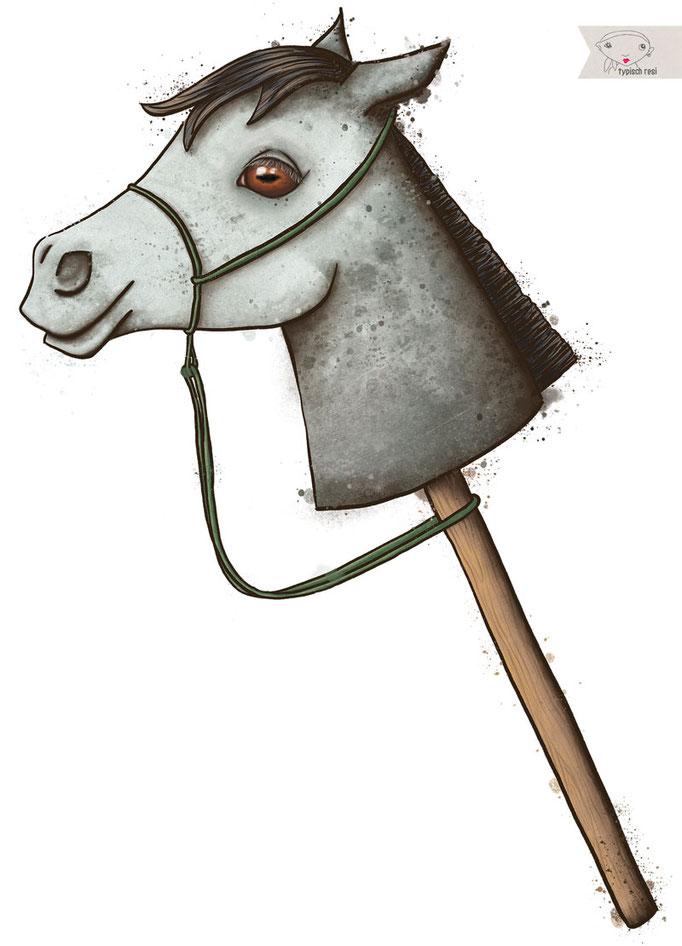 Aufkleber für Pferdeanhänger