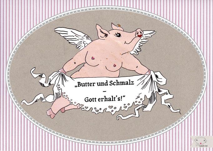 Schmalz - Postkarte