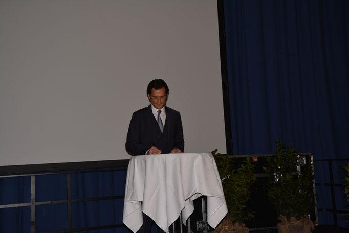 Die Feier wurde von Bernhard Heinl moderiert