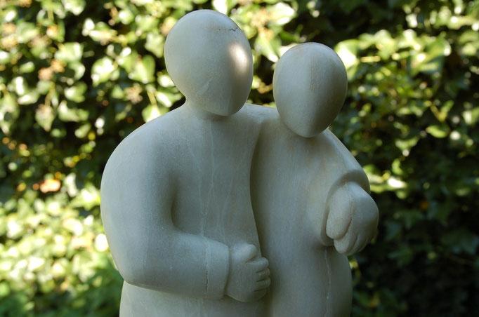 Paar, Alabaster, 2015, leider schon vergeben.