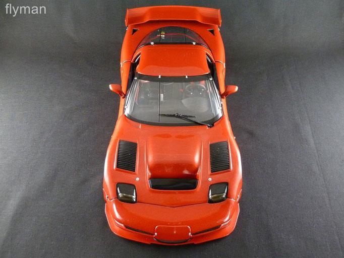 GMP 1200709 - 1:12 - Chevrolet Corvette C5-R in orangerot metallic